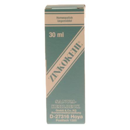 Zinkokehl homøopatiske dråber 30 ml