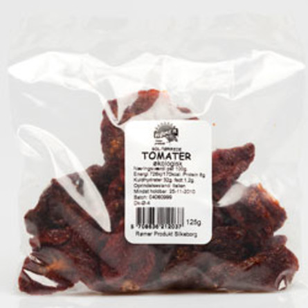 Rømer Tomater soltørrede Ø 125 g