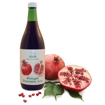 granatæblejuice hvor