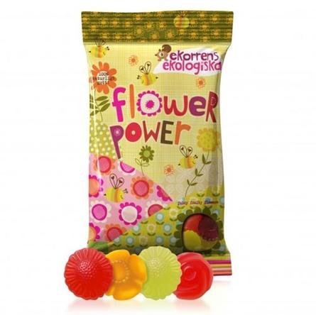 Vingummi Flower Power Ø 80 g