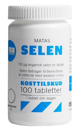 Matas Striber Matas Selen 100 tabletter