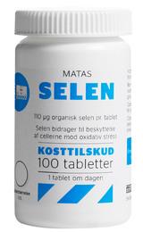 Matas Striber Matas Selen 100 tabletter 100 tabl.