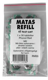 Matas Refill Testsæt phenol red 30 stk.