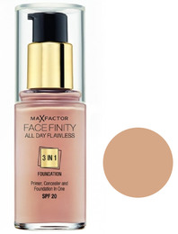 Max Factor All Day Flawless 3 in 1 Foundation 60
