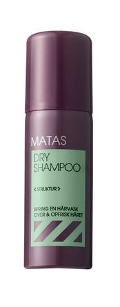 Matas Striber Dry Shampoo 50 ml, rejsestørrelse