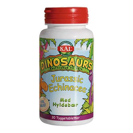 KAL DinoSaurs Echinacea tygge børn 30 tab