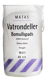 Matas Striber Matas Vatrondeller Maxi 40 stk.