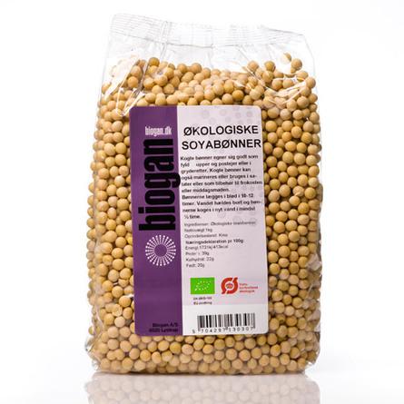 Sojabønner Ø 1 kg