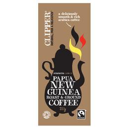 Kaffe Papua New Guinea Ø malet Clipper 227 g