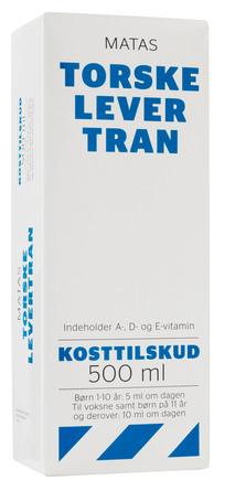 Matas Striber Torskelevertran 500 ml