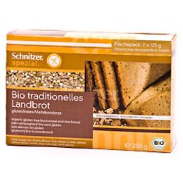 Landbrød glutenfri Ø 250 g