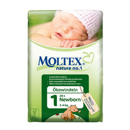 Moltex bleer newborn 2-4 kg nr. 1