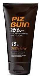 Piz Buin Tan Intensifying Sun Lotion SPF15, 150 ml