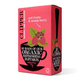 Røde bær & aronia bær te Ø Clipper