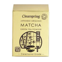 Matcha grøn te pulver Ø (ceremonial grade) 30 g