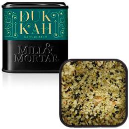 Grøn Dukkah mandler m. grøn pistacie Ø Mill 75 g