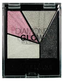 Maybelline Eye Studio Quad Diamond Glow Grey/Pink