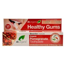 Tandpasta Pomegranate Dr. Organic  flour 100 ml.