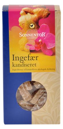 Ingefær kandiseret Ø Sonnentor 75 g