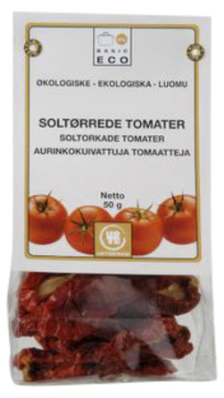 Tomater soltørrede Ø 50 g
