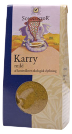 Karry mild Sonnentor Ø 35 g