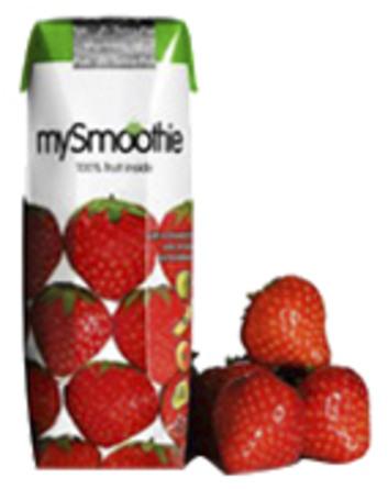MySmoothie Jordbær 250 ml