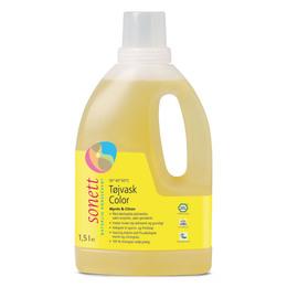 Tøjvask color mynte&citron Sonett 1500 ml