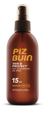 Piz Buin Tan & Protect Oil Spray SPF 15, 150 ml