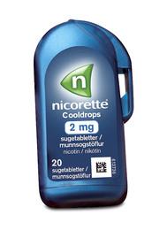 Nicorette® Cooldrops sugetabletter 20 stk