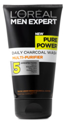 Men Expert Pure Power Daily Charcoal Wash 150 ml