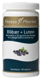 Fitness Pharma Blåbær 90 tabl.