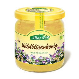 Honning vildblomst Ø Allos 500 g