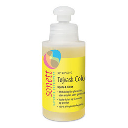 Vaskemiddel color mynte & Citron Sonett 120 ml