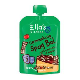 Babymos spaghetti bolognese 7 mdr Ø Ellas 130 g