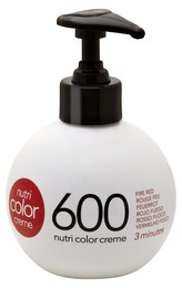 Nutri Color Creme 600 Fire Red, 250 ml