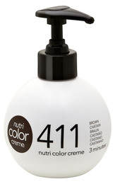 Nutri Color Creme 411 Chatain, 250 ml