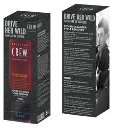 American Crew Duo-pack Fiber voks + 3-in-1 100 ml