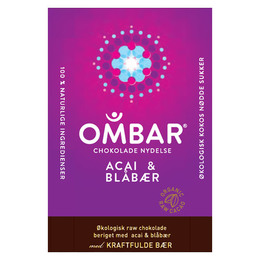 Acai og blåbær Ombar Ø 35 g