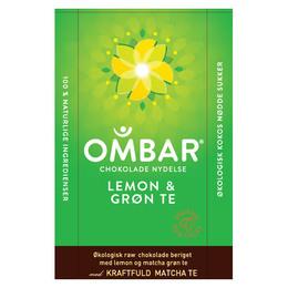 Grøn te og lemon Ombar Ø 35 g