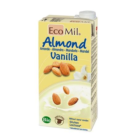 Mandeldrik m. vanilie Ecomil Ø 1 l