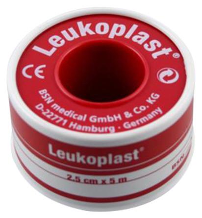 Nygaard Leukoplast tape 5 m x 1,25 cm