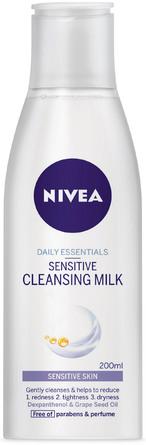 Nivea Essentials Cleansing Milk Sensitive 200 ml
