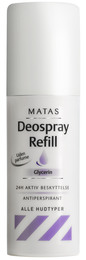 Matas Deospray Refill 150 ml