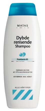 Matas Striber Matas Dybderensende Shampoo 250 ml 250 ml