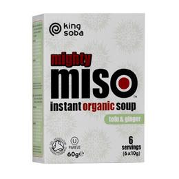 Instant Miso suppe Ø Tofu & Ingefær 60 g