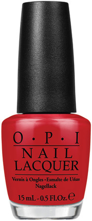 OPI Nail Lacquer Red Hot Rio
