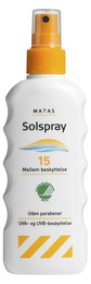 Matas Solspray faktor 15 200 ml