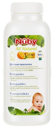 Nûby Citroganix Baby pudder 90 g 90 g