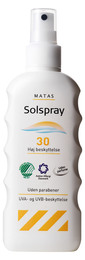 Matas Solspray faktor 30 200 ml
