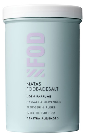 Matas Striber Fodbadesalt Ekstra Plejende Uden Parfume 400 g